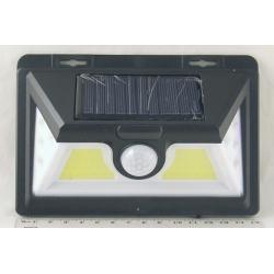 Подсветка для сада 8+2 больш. ламп №1828B-8 солнечн. батар., датчик движ.