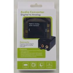 Конвертор аудио из цифрового в аналоговый (Optica - 2RCA)