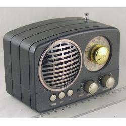 M-161BT (FM,,AM,SW1/2) SD, USB сетев., встроен. аккум. Bluetooth