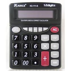 Калькулятор 111 (KC-111-S) 12 разр. CHECK