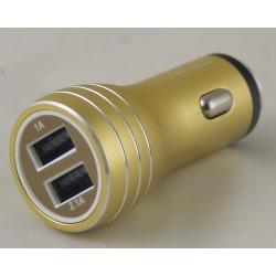 Блок питания для MP3 (2 USB,без шн.) 5V 2,1/1A прикур. KO-33