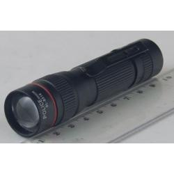 Фонарь светодиодный (1 мощ. 1AА) 5000W B-516 zoom