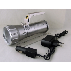 Фонарь аккумуляторный (1 ярк. + 3акк.+ ЗУ) 10000W H-548-T6 zoom
