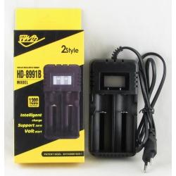 Зарядное устройство для 2 акк. 18650 HD-8991B