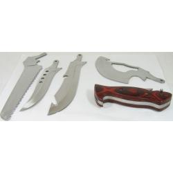 Инстр. X-4 4:1(нож,пила,секач,общ.ручка,чехол)