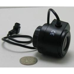 """Объектив FFA-0412DC 1/3"""" 4mm F1.2 автодиафр. 71gr"""