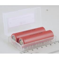 Аккумулятор для фонарика №18650 2500mA LG дорог. (по 2шт)