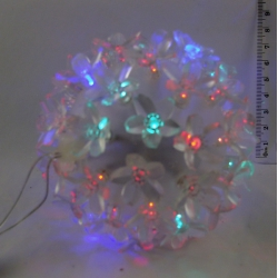 Гирлянда - шар светодиод. разноцв. 50 диод.