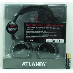 Науш. с MP3, FM прием. с акк. micro SD, USB AT-7601