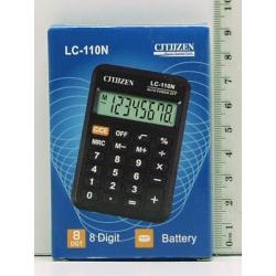 Калькулятор 110 (LC-110N) 8 разр. мал.