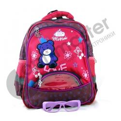 Рюкзак школьный №202 (3отдел., 2бок.+ 1перед. карман 32*25см)