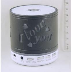 Колонки MP3 с FM-прием., USB, SD KH-70 Bluetooth