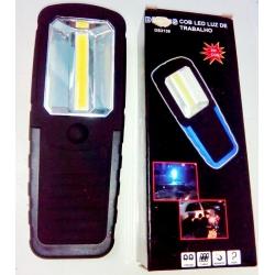 Фонарь светодиодный (1 больш. лампа, 3AAА) №205