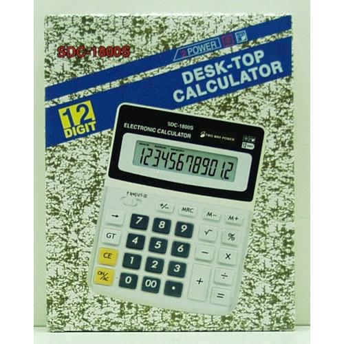 Калькулятор 1800 (SDC-1800) 12 разр. сред.