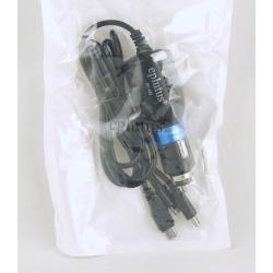 Заряд. устр. для IPHONE5, SAMSUNG, miniUSB FC-452 1,5м 2A в пакете