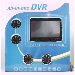 Комплект (видеорегистр.-монитор+4 кам.) internet TA-774
