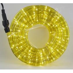 Шнур (дюралайт) 10м 8 функц. (желт.)