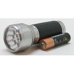 Фонарь светодиодный (12 мощ. ламп, 3AAА)0.5W №2016-12С