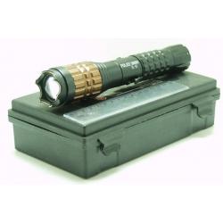 Электрошокер с фонариком (1ярк.+ авто ЗУ+ аккум.) zoom X-5 в пласт. кор.