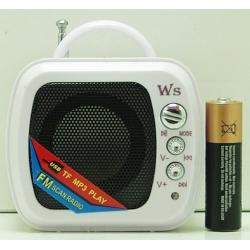 Колонки MP3 с FM-прием., USB, SD WS-575