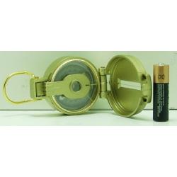 Компас с плав. катушкой (желтый) DC45-3 пластм.