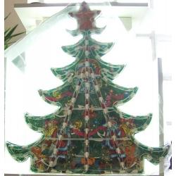 Гирлянда - елка разноцв.большая 96 ламп