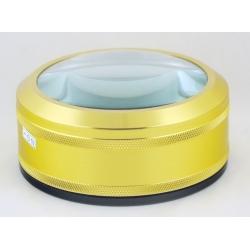 Лупа (100-6) метал. желт.