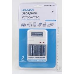 Зарядное устройство Lenmar PRO-120-23 (ЗУ + 4 акк, 2300мАч)