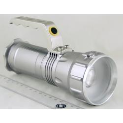 Фонарь аккумуляторный (1 ярк. + 2акк.+ ЗУ) 10000W №1818-T6 zoom