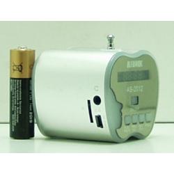 Колонки MP3 с FM-прием.,USB, SD T-2012 с экр.