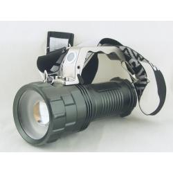 Фонарь аккумуляторный (1 ярк. + 3акк.+ ЗУ) 10000W ST-12-T6 zoom