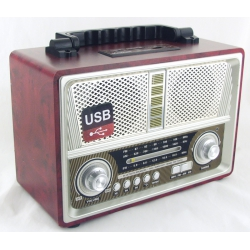 M-U1802 3 band (FM/AM/SW) USB, SD, Bluetooth ретро