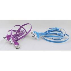 Шнур для IPHONE4/5, SAMSUNG 4в1 EDT-4