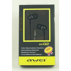 Наушники AWEI Q-2 вакуум. в короб.