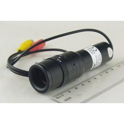 """ВИДЕОкам. JK-969Z 1/3"""" цв. цилиндр. 420Tvl 4-9mm zoom"""