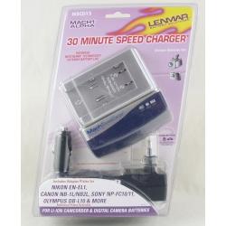 Зарядное устройство LENMAR MSCD15 MACH-1 (за 30 минут) 4 картриджа