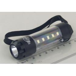 Фонарь светодиодный (1 мощ. акк.) 100W H-586 USB