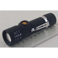 Фонарь светодиодный (1 мощ. акк.) 100W G-998 USB zoom
