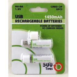 Аккумулятор для фонарика №14500-USB 3,7V 1300mA ??