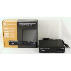 Цифровой тюнер DVB-T2 T-80