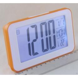 Часы  говорящ. с подсвет. KF-1828 (с темп.)