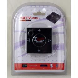 Коммутатор HDMI 1080P 3 входа блистер