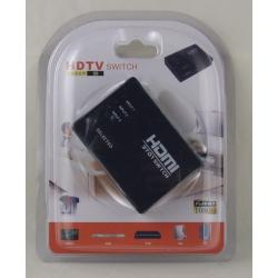 Коммутатор HDMI 1080P 3 входа с пультом блистер