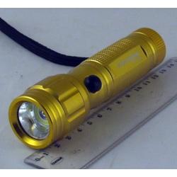 Фонарь  3AAA 1 больш.+ лазер. BL-C711