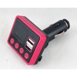 MP3 модулятор авто №862 (A-13) 2 USB с пультом, экр