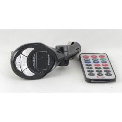 MP3 модулятор авто KD-200 USB, микро SD (с пультом, экр.) в коробке