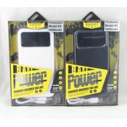 PowerBank 2USB S-5 TEXNANO 15000mAh с фонариком