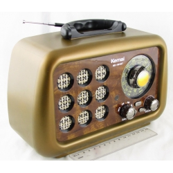 Радиоприёмник M-D1901BT 4 band (FM/AM/SW) USB, SD встроен. аккум. ретро сетев./2R20