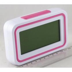 Часы  говорящ. с подсвет. №9905 (с темп.) (говорят по-китайски)