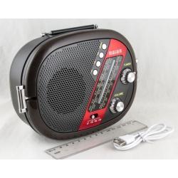 Радиоприёмник M-519BT (FM,,AM,SW) SD, USB встроен. аккум.,шнур microUSB, Bluetooth